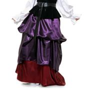 Purple and Wine Gathered Costume Skirt - Adult