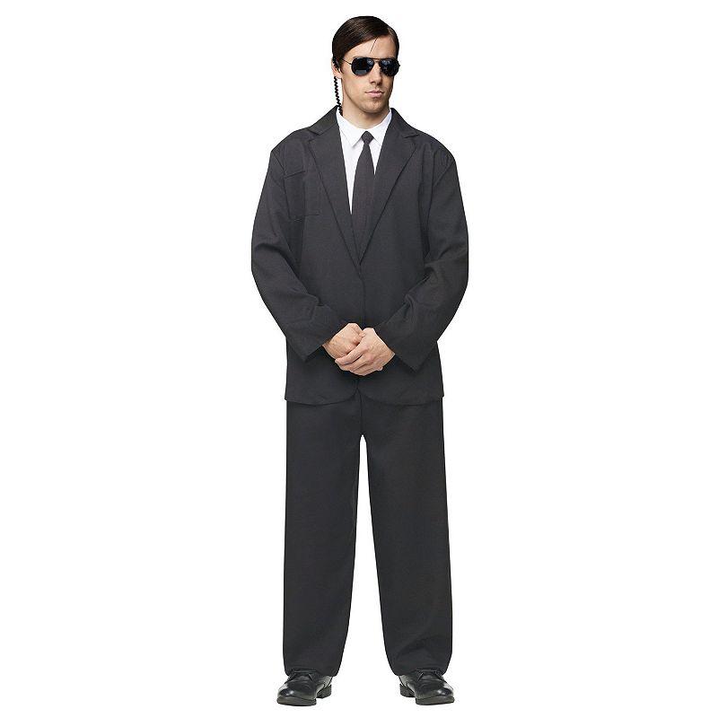 Black Suit Costume - Adult