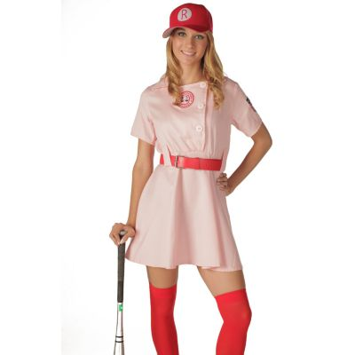 A League Of Their Own Rockford Peaches Costume - Adult