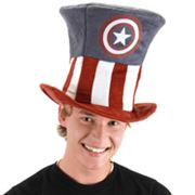 Marvel Captain America Costume Hat - Adult