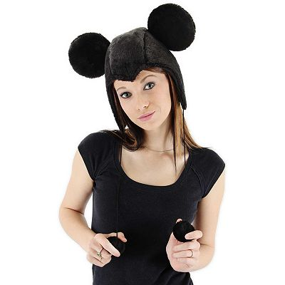Disney Mickey Mouse Hoodie Costume Hat - Adult