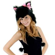 Kitty Hoodie Costume Hat - Adult