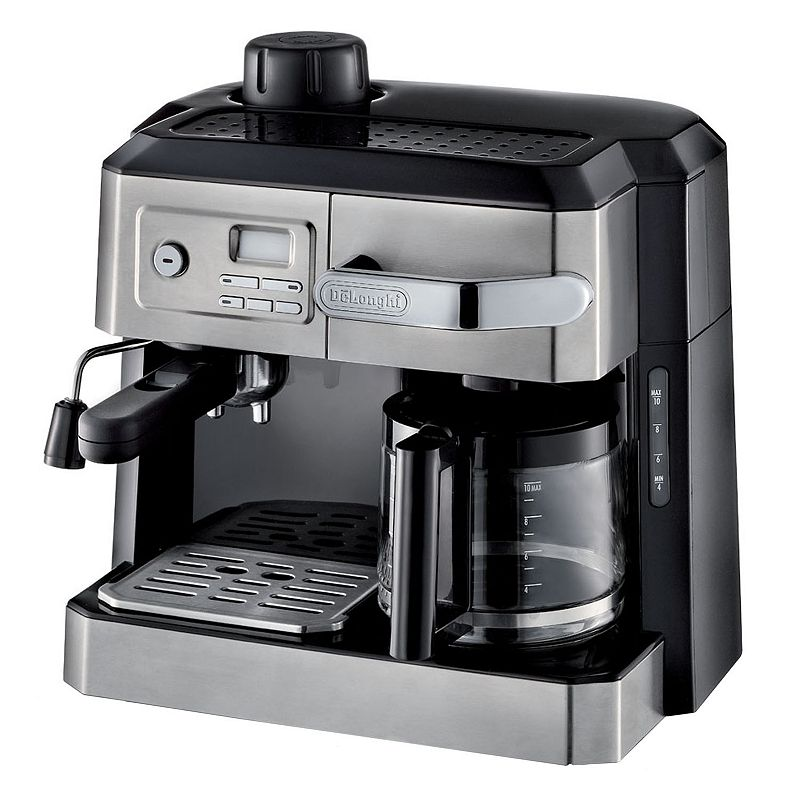 DeLonghi All-in-One Combination Coffee & Espresso Machine (Black)