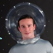 Space Costume Helmet - Adult