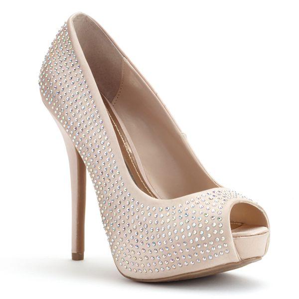 Jennifer Lopez Women S Peep Toe Platform High Heels