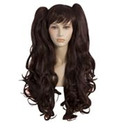 Pigtail Cosplay Costume Wig - Adult