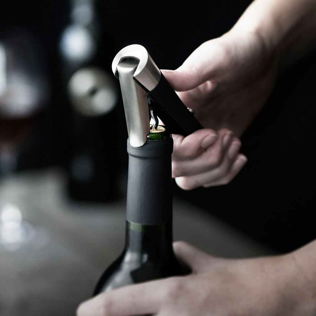 Menu Decanting Pourer Vignon and Waiter's Corkscrew