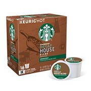 Keurig K-Cup Portion Pack Starbucks Decaf House Blend Coffee - 16-pk.
