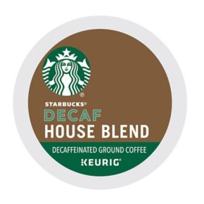 Keurig® K-Cup® Pod Starbucks House Blend Decaf Coffee - 16-pk.