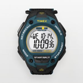 Timex Men's Ironman Triathlon 30-Lap Digital Chronograph Watch - T5K413KZ