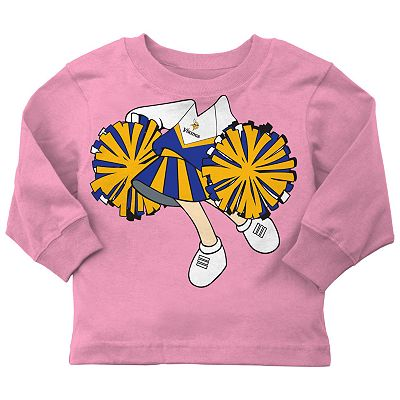 Minnesota Vikings Cheerleader Tee - Baby