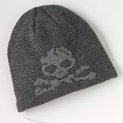 Urban Pipeline Skull and Crossbones Headphone Beanie