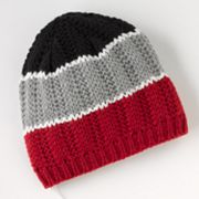 Urban Pipeline Headphone Knit Beanie