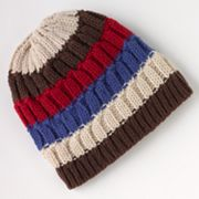 Urban Pipeline Slouch Striped Beanie