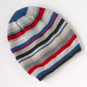 Urban Pipeline Multi-Striped Beanie