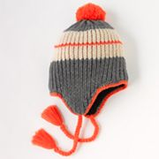 Urban Pipeline Pop-Pom Peruvian Hat