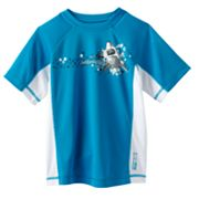 ZeroXposur Shark Island Rash Guard - Boys 4-7