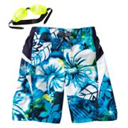 ZeroXposur Tropical Heat Swim Trunks - Boys 4-7