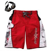ZeroXposur Block Rogue Swim Trunks - Boys 4-7