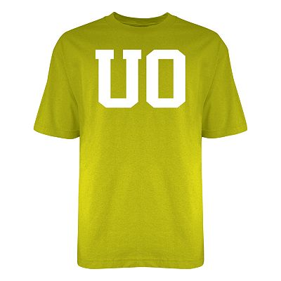 Oregon Ducks White Out Logo Tee - Men