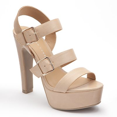 LC Lauren Conrad Platform Sandals - Women