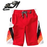 ZeroXposur Tonga Swim Trunks - Boys 4-7