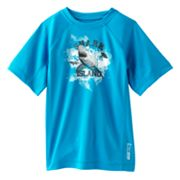 ZeroXposur Shark Rash Guard - Boys 4-7