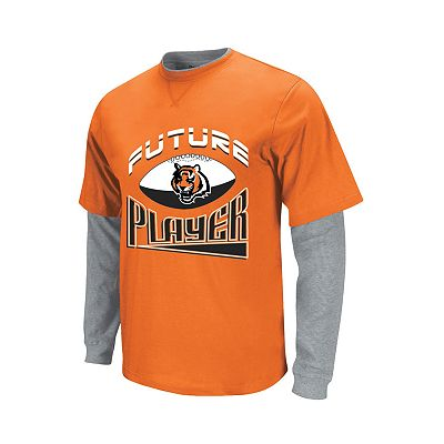 Cincinnati Bengals Mock-Layer Future Player Tee - Toddler