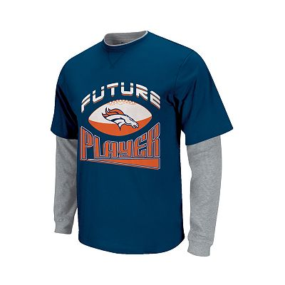 Denver Broncos Mock-Layer Future Player Tee - Toddler