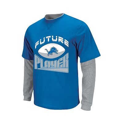 Detroit Lions Mock-Layer Future Player Tee - Toddler