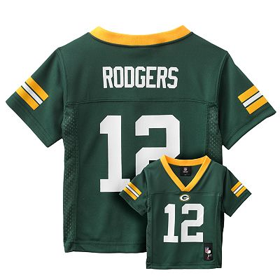 Green Bay Packers Aaron Rodgers Jersey - Toddler