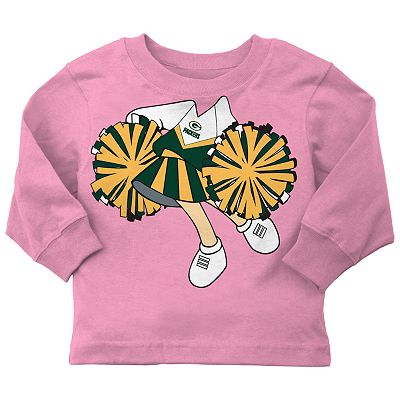 Green Bay Packers Cheerleader Tee - Toddler