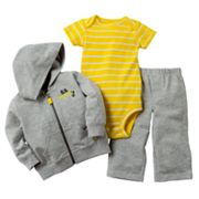 Carter's S.S. Cutie Hooded Cardigan Set - Baby