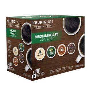 Keurig® K-Cup® Pod Medium Roast Coffee Variety Pack - 48-pk.