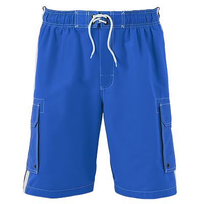 SONOMA life + style Striped Cargo Swim Trunks