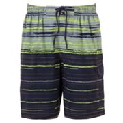 SONOMA life + style Striped Stretch Swim Trunks