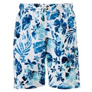 SONOMA life + style Tropical Print Swim Trunks