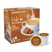 Keurig® K-Cup® Pod Cafe Escapes Cafe Caramel - 16-pk.