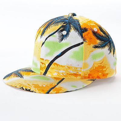 Mudd Tropical Palm Tree Baseball Cap
