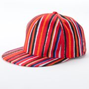 Mudd Striped Baseball Cap