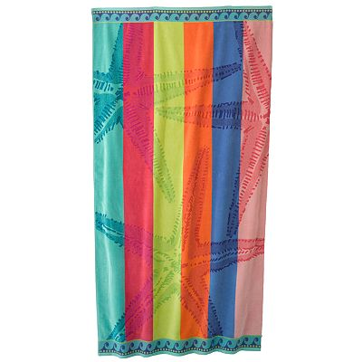 SONOMA life + style Rainbow Starfish Beach Towel