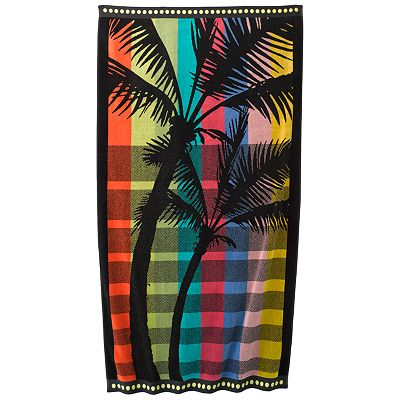 SONOMA life + style Rainbow Palm Beach Towel