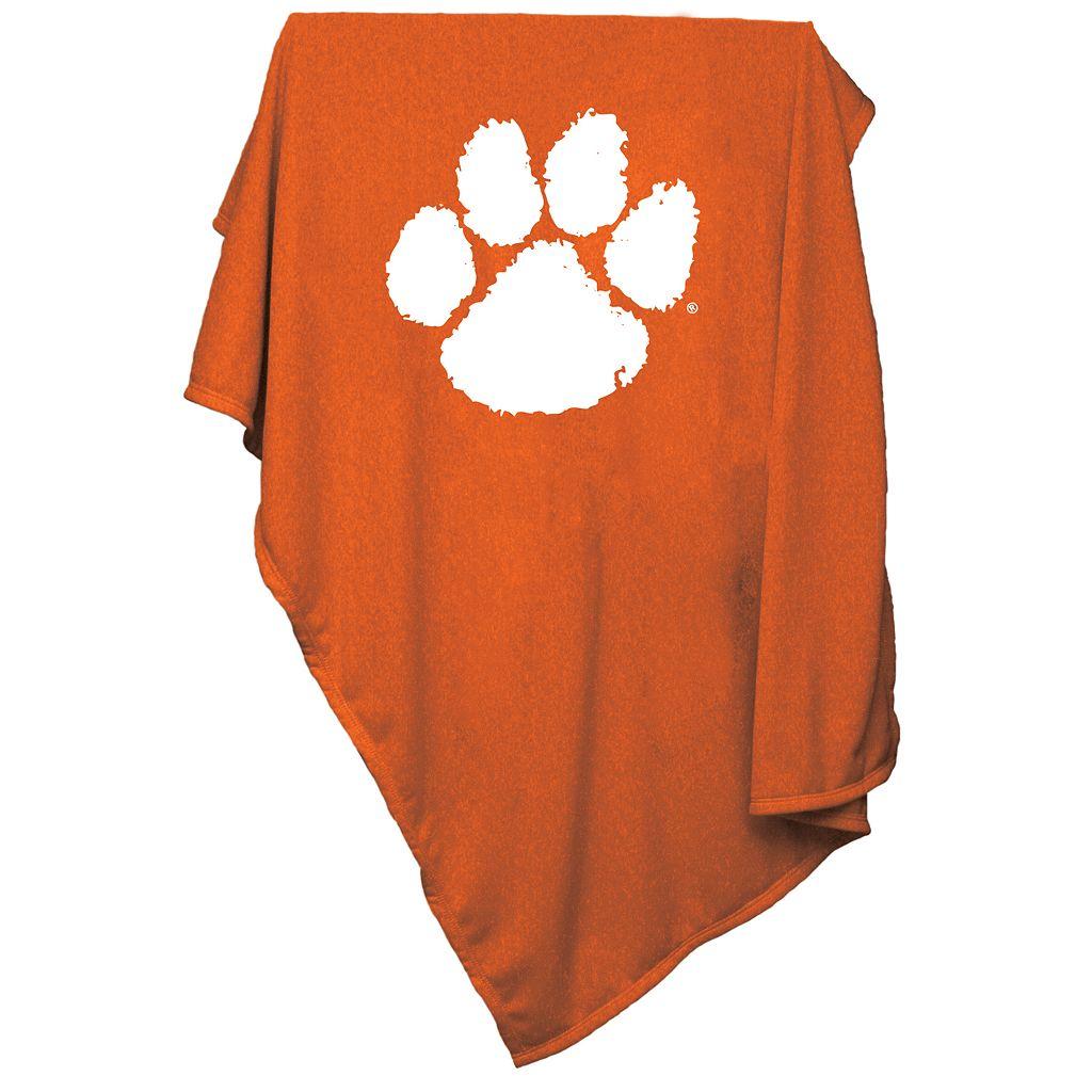 Clemson Tigers Sweatshirt Blanket