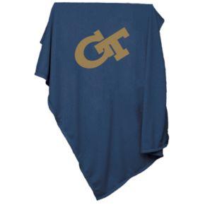 Georgia Tech Yellow Jackets Sweatshirt Blanket