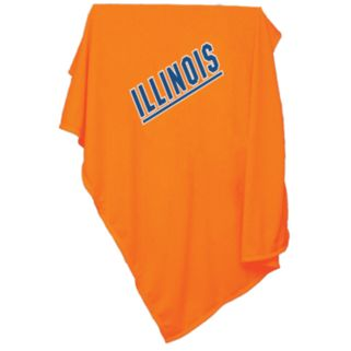 Illinois Fighting Illini Sweatshirt Blanket