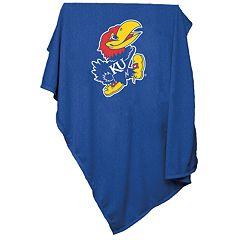 Kansas Jayhawks Sweatshirt Blanket