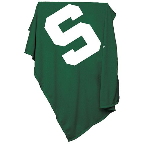 Michigan State Spartans Sweatshirt Blanket