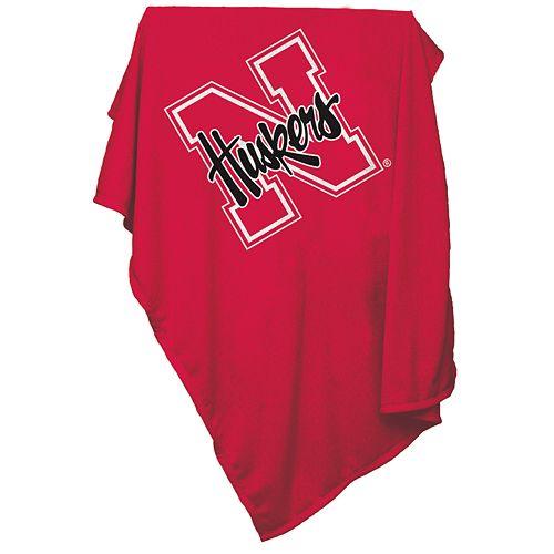 Nebraska Cornhuskers Sweatshirt Blanket