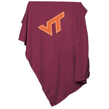 Virginia Tech Hokies Sweatshirt Blanket