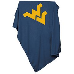 West Virginia Mountaineers Sweatshirt Blanket